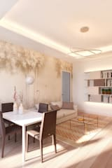 Salas de estar modernas por NLDigital