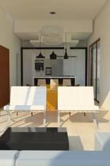 Salas de estar modernas por Antônio Santos
