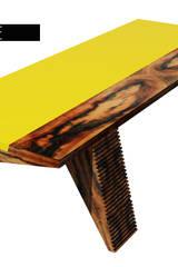 Saama Table:   por ARQAMA - Arquitetura e Design Lda