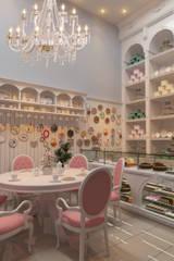 Restaurantes de estilo  por  Sotto Mayor Arquitetura e Urbanismo