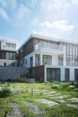 Вилла в Алуште с шикарным видом на море: Дома в . Автор – VITTA-GROUP