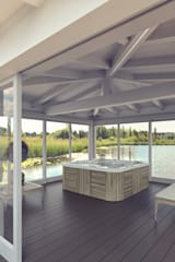 Gazebo Cosmo mod. Luxury: Spa in stile in stile Asiatico di Verdebano ASC F.lli Saramin & Co. s.n.c.
