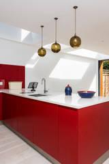 Albion Road : minimalistic Kitchen by IQ Glass UK