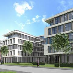 Bürogebäude Düsseldorf Moderne Bürogebäude von Architekten Graf + Graf Modern