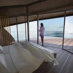The Shells // Schlafzimmer: tropische Schlafzimmer von designyougo - architects and designers