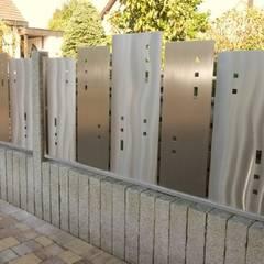 Edelstahl Sichtschutz:  Garten von Edelstahl Atelier Crouse - Stainless Steel Atelier