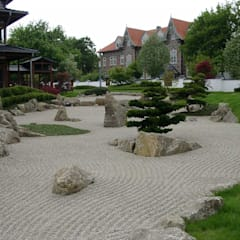 Japanischer Park in Bad Langensalza:  Garten von Kirchner Garten + Teich GmbH