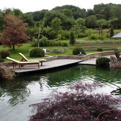 Estanques de jardín de estilo  por Kirchner Garten & Teich GmbH,