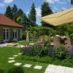 Garden by neuegaerten-gartenkunst, Mediterranean