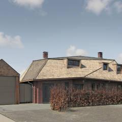villa aan het spaarne:  Huizen door derksen|windt architecten