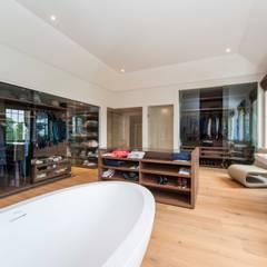 Clear Glass Sliding Doors in Barnet:  Dressing room by Go Glass Ltd