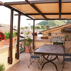 Terrace by Au dehors Studio. Architettura del Paesaggio, Rustic