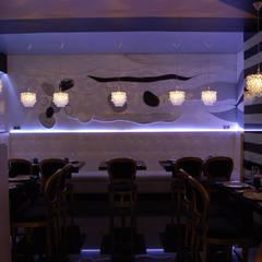 Restaurante Asiático Mütte: Comedores de estilo  de Arquitectura de Interior