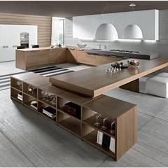 Foto cocina madera: Comedores de estilo moderno de NEUTTRO interiorismo