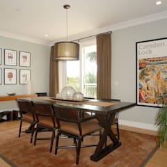 Palma de Malljorca (Home):  Dining room by Lewis & Co