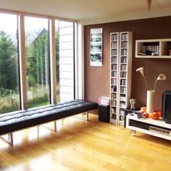UmbauErweiterung | H Moderne Wohnzimmer von Architekturbüro HOFFMANN Modern