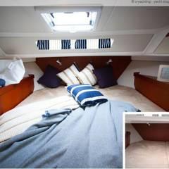 """""""Nimbus"""" Yacht - Gestaltung für Bootsmesse:  Yachten & Jets von Münchner home staging Agentur GESCHKA,Klassisch"""