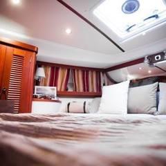 """""""Nimbus"""" Yacht - Gestaltung für Boosmesse:  Yachten & Jets von Münchner home staging Agentur GESCHKA,Klassisch"""