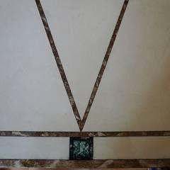 Marmormalerei :  Wände von Illusionen mit Farbe