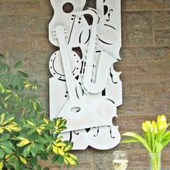 Kreative Gartenbeleutung:  Garten von Atelier Hrubes,Ausgefallen