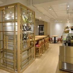 Bun Café - インテリア・ディスプレー: MoMo. Co., Ltd.が手掛けたレストランです。