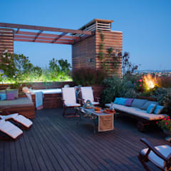 Flat roof توسطGiardini Giordani, مدرن