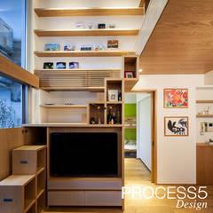 Media room by 株式会社PROCESS5 DESIGN
