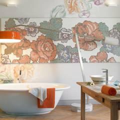 Baños de estilo  por BARASONA Diseño y Comunicacion