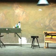 Hausbar: industrialer Multimedia-Raum von works berlin