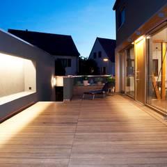 Nachher Bilder - Umbau:  Terrasse von Holzerarchitekten