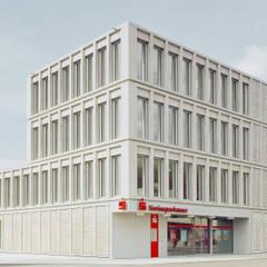 KSK Kompetenzcenter Süßen:  Bürogebäude von dauner rommel schalk architekten
