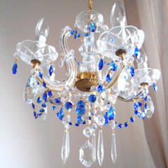 Living room by Milan Chic Chandeliers