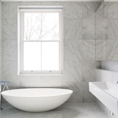 Carlton Hill, London :  Bathroom by Gregory Phillips Architects
