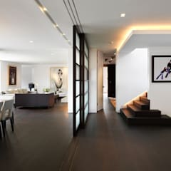 Totteridge: modern Living room by Gregory Phillips Architects