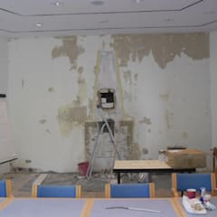 Centros de Congressos escandinavos por Interiordesign - Susane Schreiber-Beckmann gestaltet Räume. Escandinavo