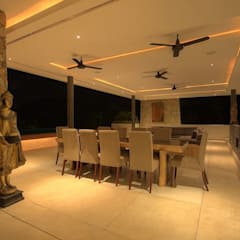 Villa 9:  Dining room by Alissa Ugolini - homify UK