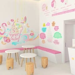Restaurantes de estilo  por www.rocio-olmo.com