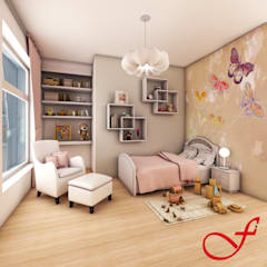 modern Nursery/kid's room by Fenice Interiors