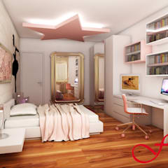 Teen bedroom by Fenice Interiors