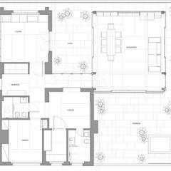 casa t: Case in stile  di Piano B Architetti Associati