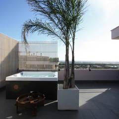 Terrasse de style  par Piano B Architetti Associati