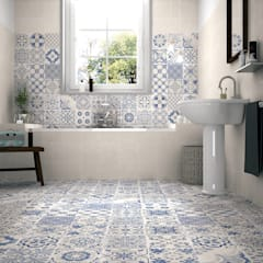Skyros wall and floor tiles homify Kırsal/Country