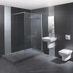 Wetroom Shower Areas: modern Bathroom by nassboards