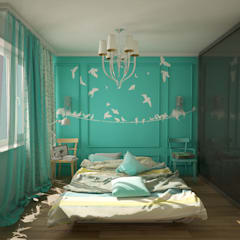 Bedroom by labzona, Eclectic