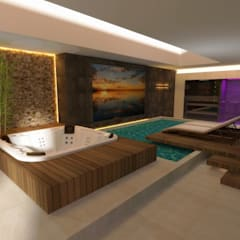 Spa oleh RON Stappenbelt, Interiordesign