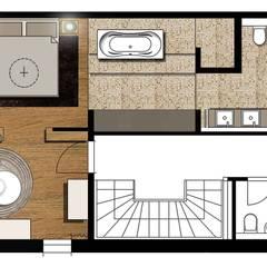 Baños de estilo  por Atelier Schöngestalt