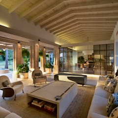 Living room by Artigas Arquitectos