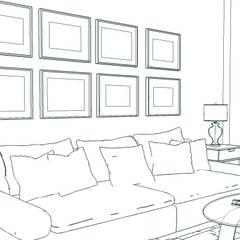 Pequeño apartamento. : Comedores de estilo  de MUMARQ ARQUITECTURA E INTERIORISMO