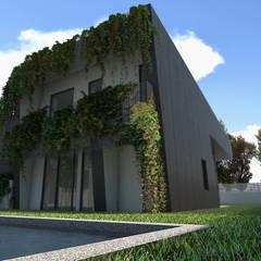 Houses by Q:NØ Arquitectos ,