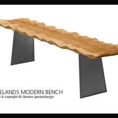 Tidelands Modern Bench - Möbldesign von GERSTENBERGER® Ausgefallen